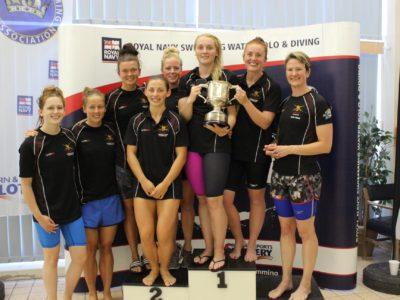 Inter services swimming womens team