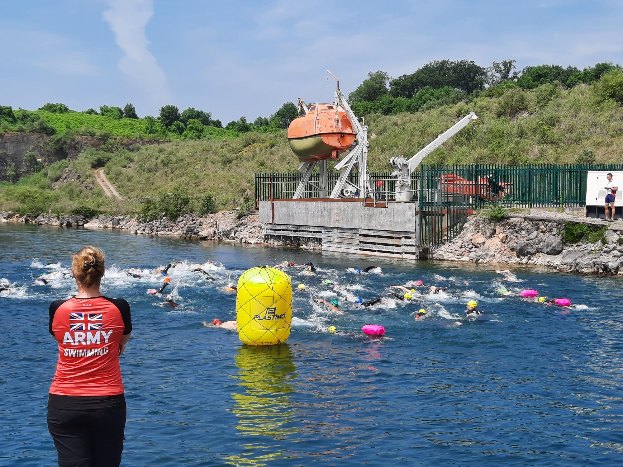 Army Swimming Union – Individual Open Water Swimming Series  Event 2 – Wed 14 Jul 21